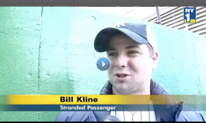 Normally Bill covers the news, but in the course of his own reporting found himself appearing on it.